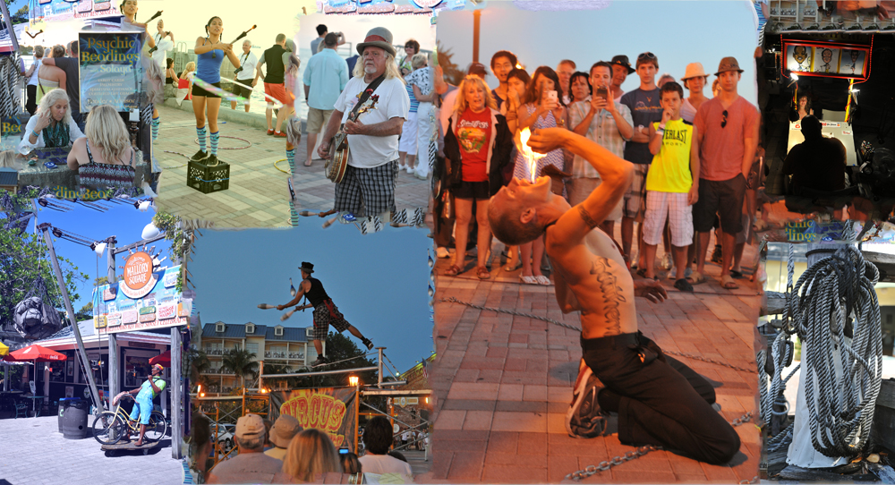 Street Performers at Mallory Square