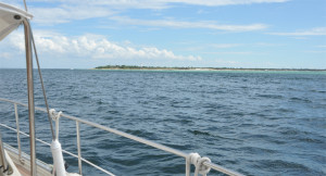 Egmont Key and Lighthouse Welcomes Boats to Tampa Bay