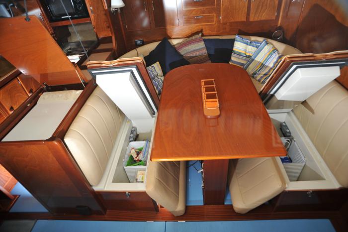Freezer Storage Under Seats