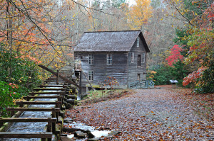Mingus Mill - Great Smoky Mountains National Park. Built in 1886