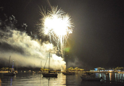 St Petersburg Fireworks - courtesy of TBO