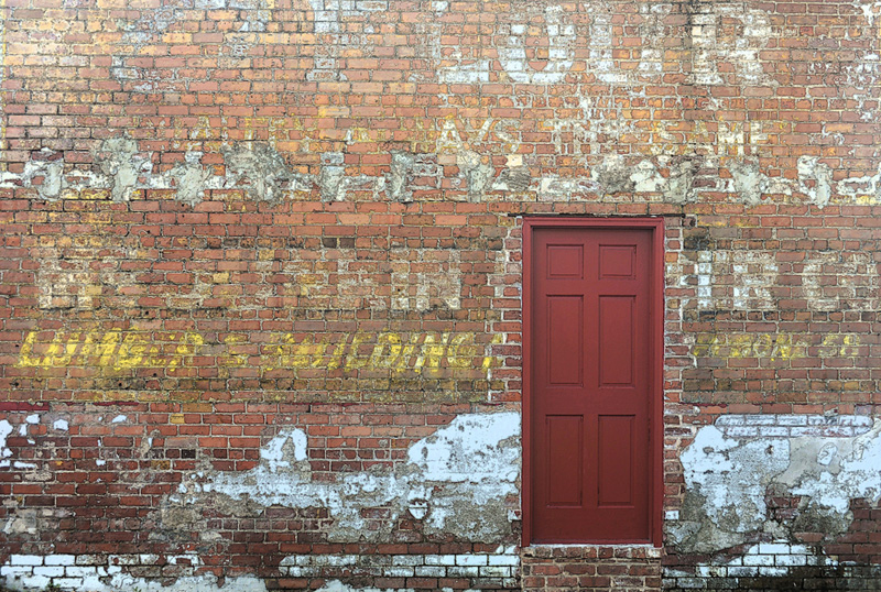 Amelia Island Wall and Door
