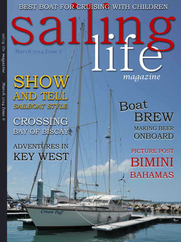 Sailing Life Cover - March