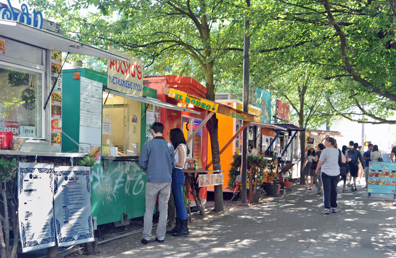Oregon - Portland Food Trucks