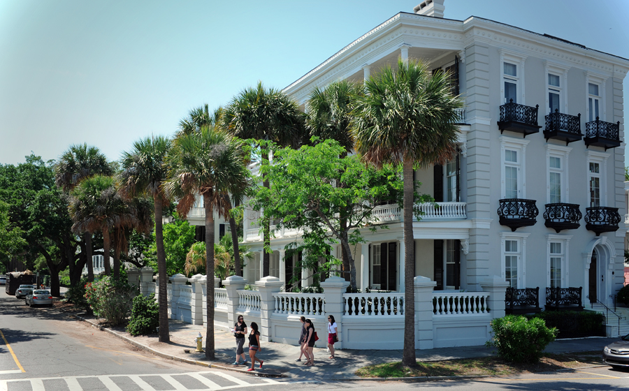 Mansions Along South Battery St.