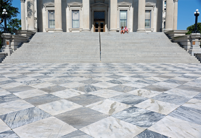 The Customs House Steps