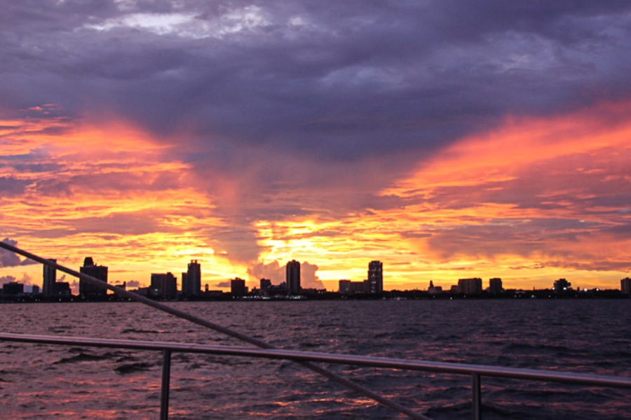 St Pete at Sunset