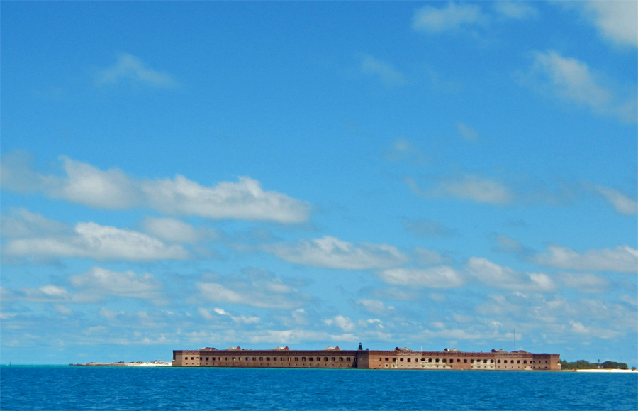Land Ahoy - Arriving in the Dry Tortugas