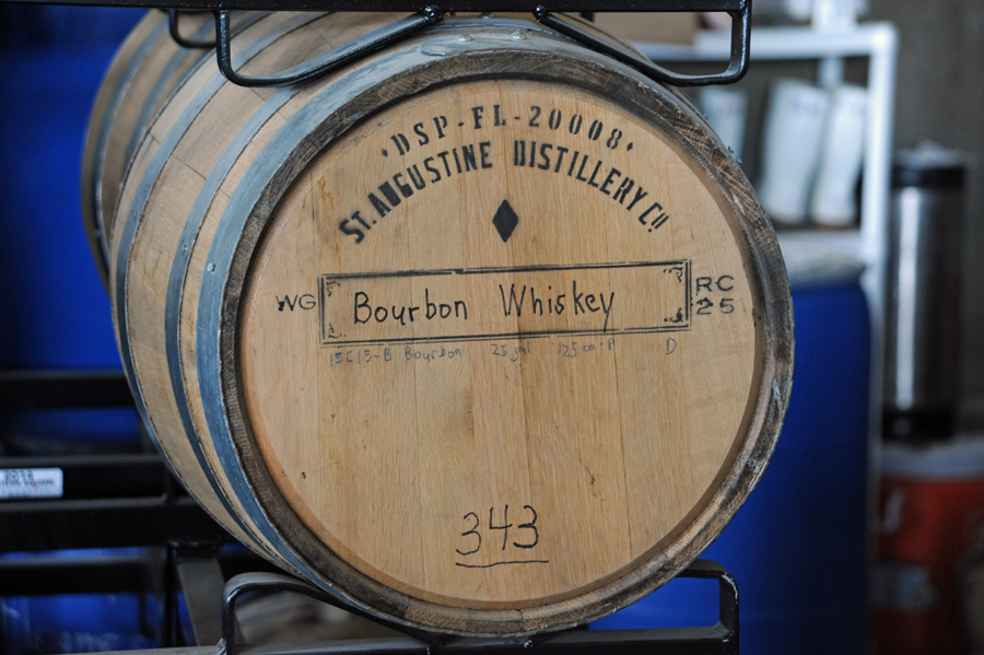 Bourbon is Aged for 4 Years