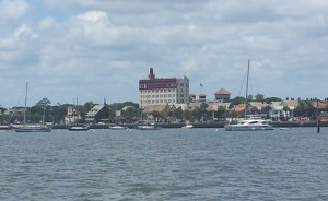 Approach to St Augustine