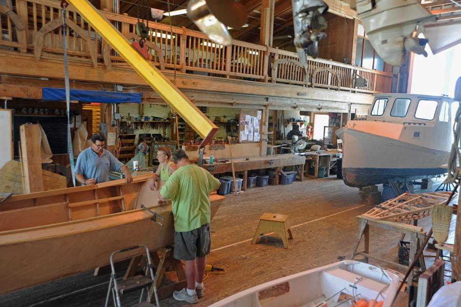 Wood Boat Shop