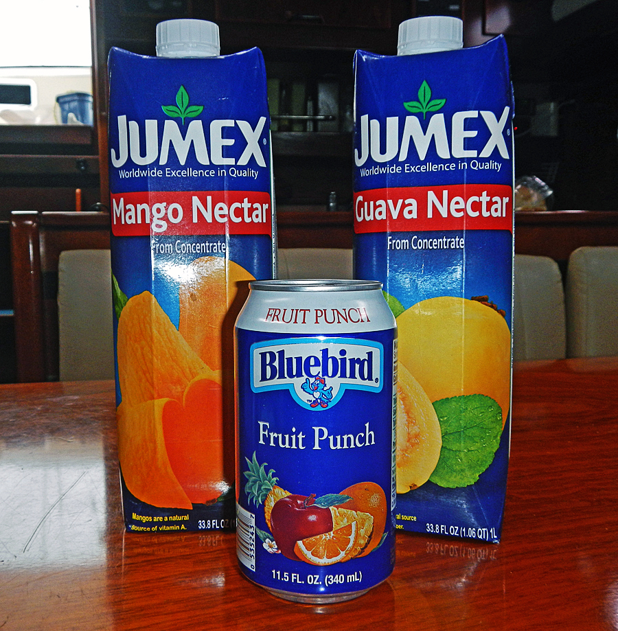 Types of Juice Sold