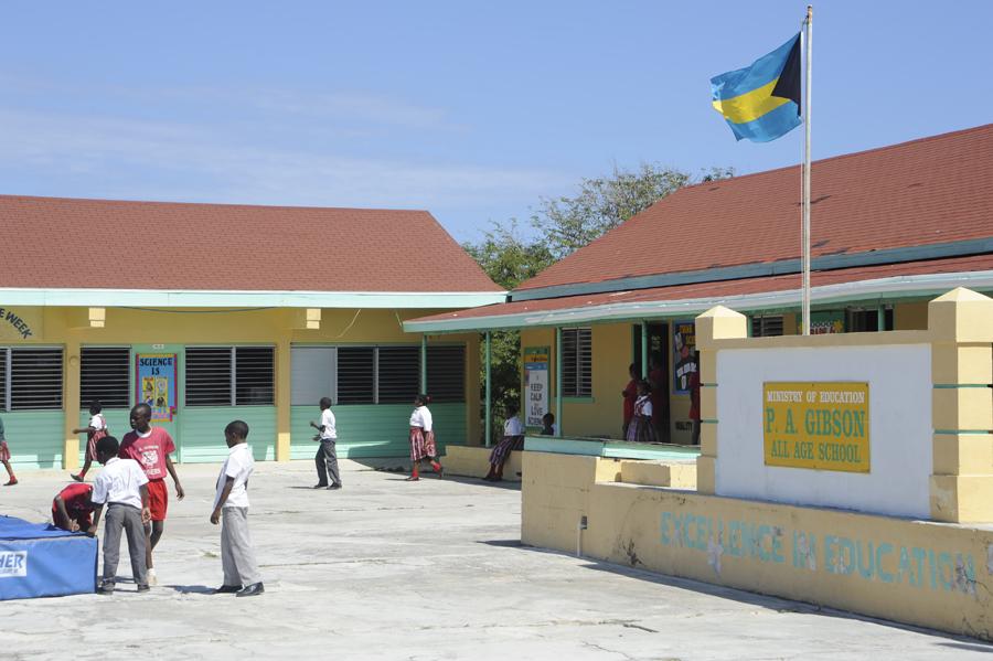 A Typical School. Eleuthera, Bahamas