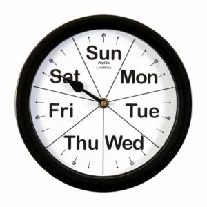 day-of-the-week-clock