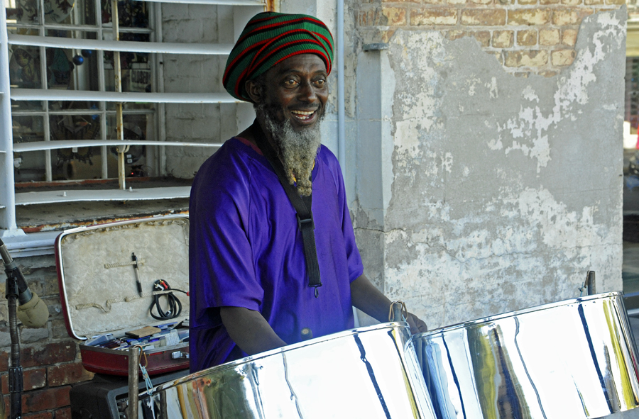 Steel drum player - this guy was really good!