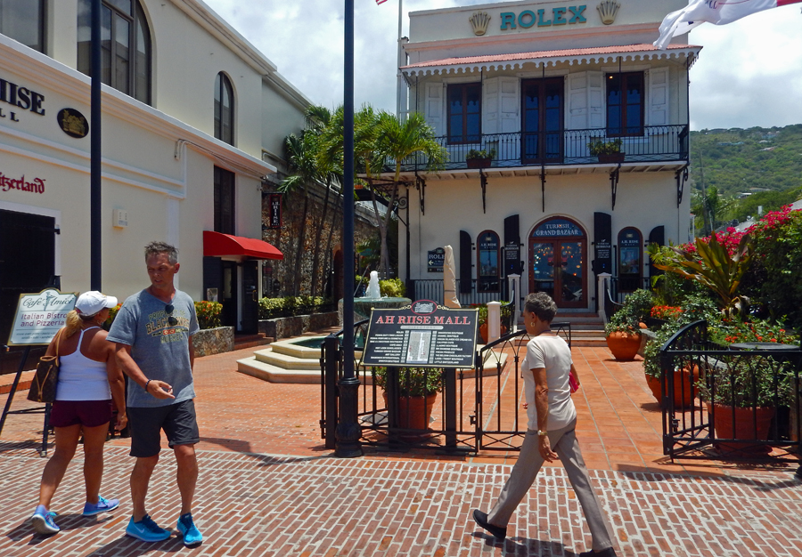 Rolex shop in St Thomas