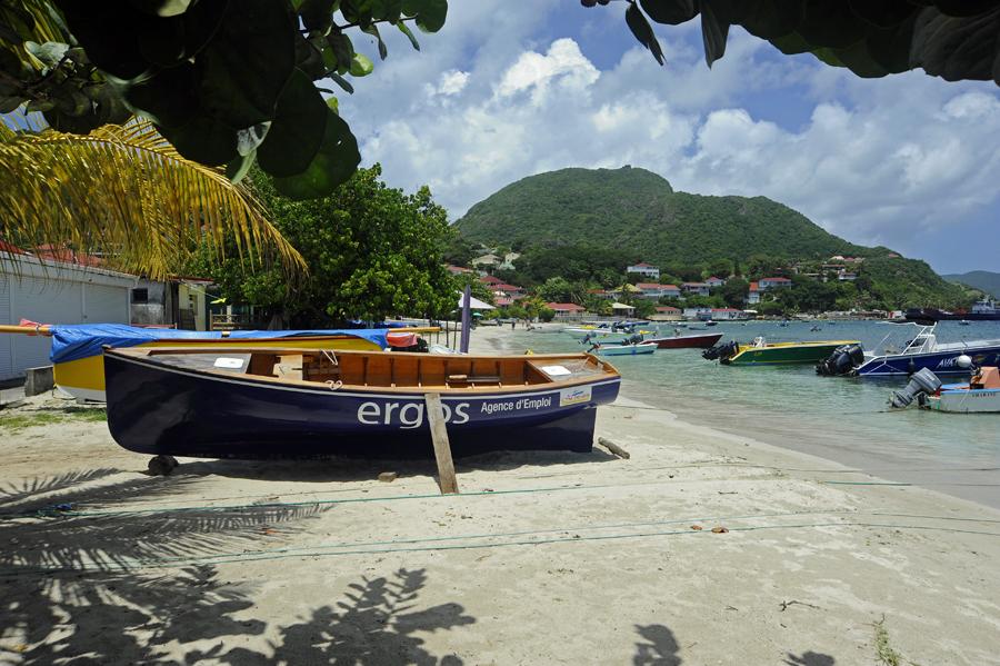 Anse du Fond Cure, Guadeloup, Îles des Saintes, Terre-de-Haut