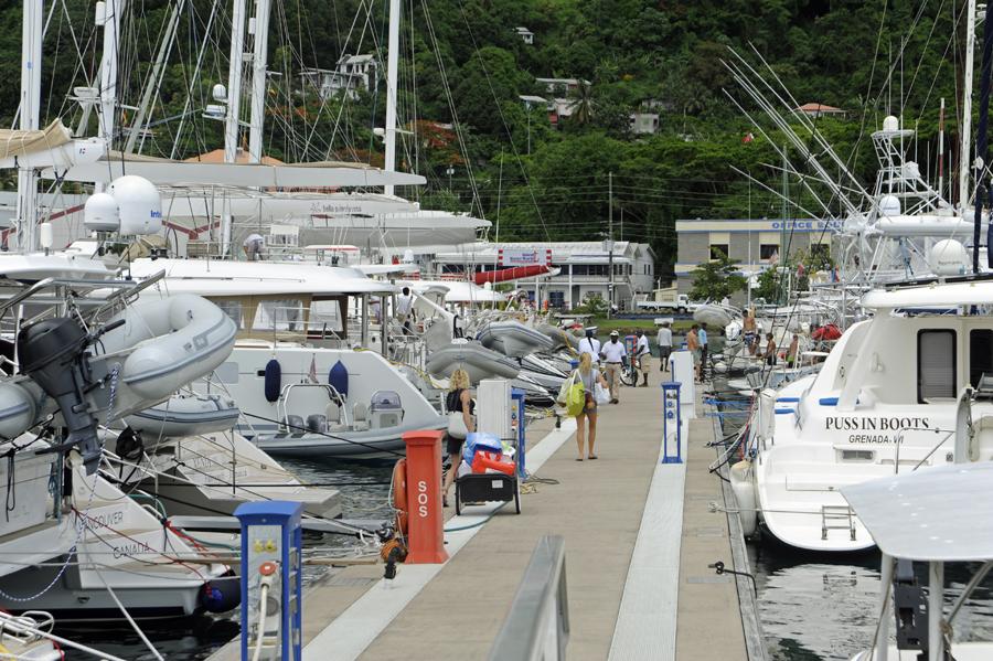 Grenada port louis marina