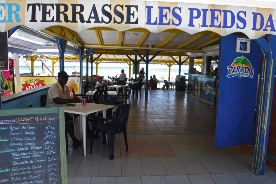 Guadeloupe - The east wing