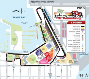 Map of Race Track