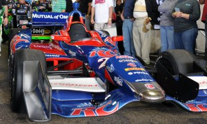 Marco Andretti's -  car in the paddock - 3rd Place