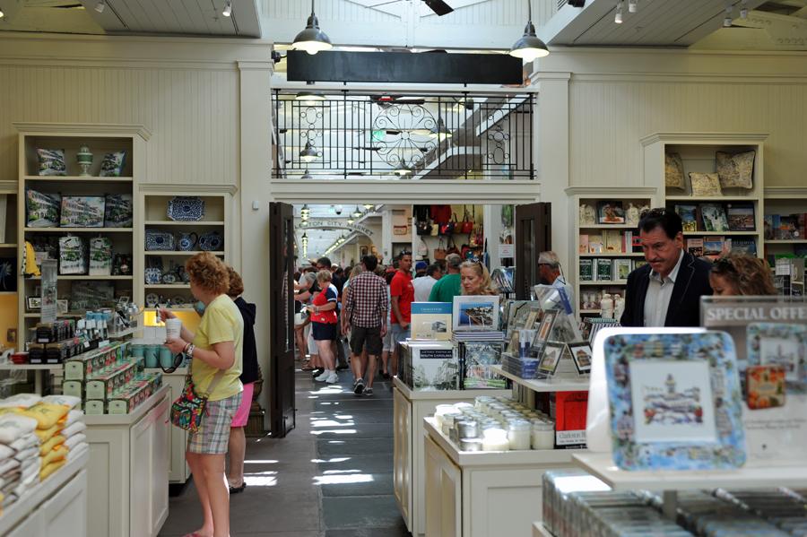 Charleston City Market - Inside