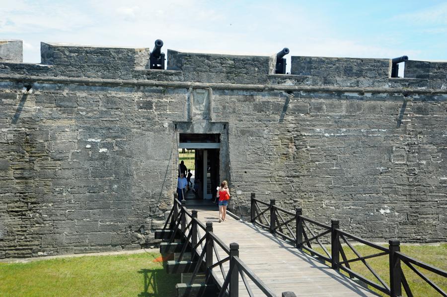 Castillo de San Marcos - Entrance