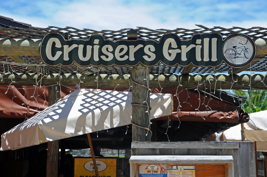 Cruisers Grill - Oh, they mean the bicycle.