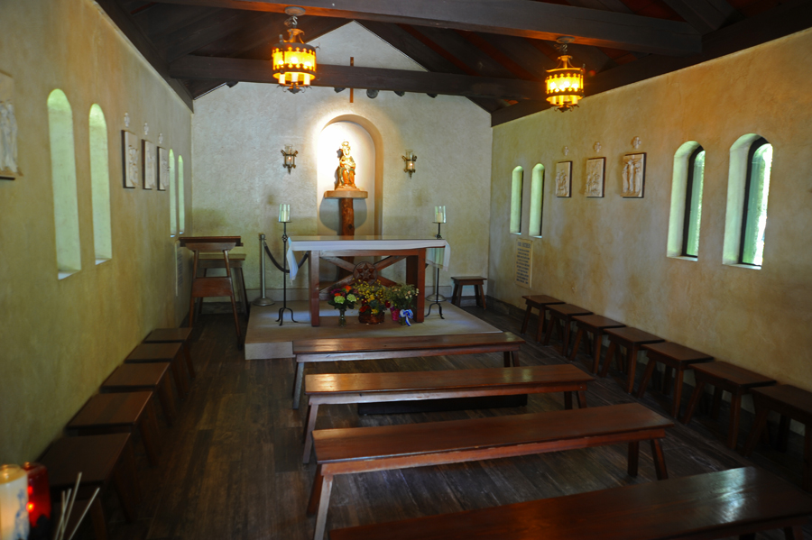 Our Lady of La Leche - Inside