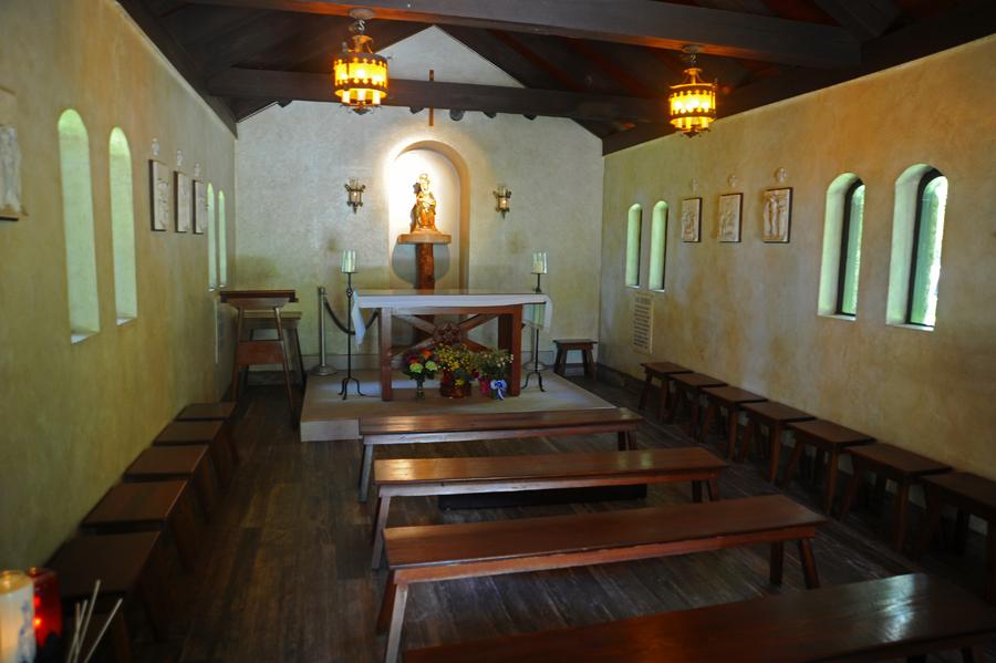 Our Lady of La Leche - Inside