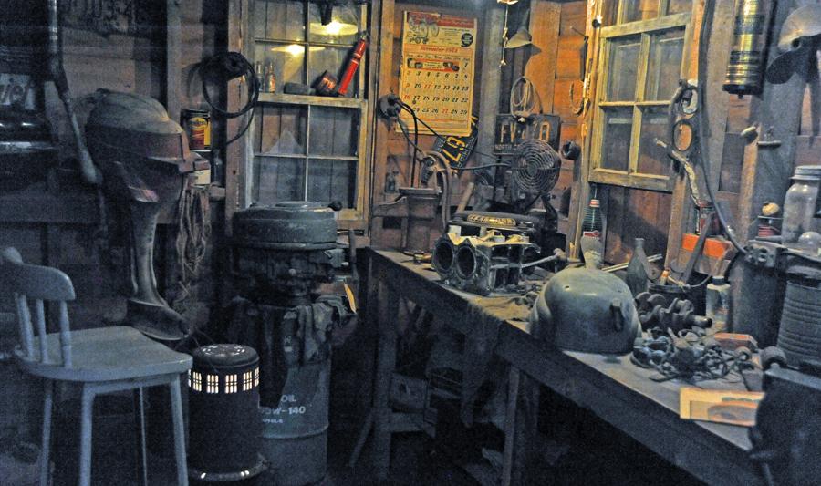 Outboard Motor Repair Shop (maritime museum)