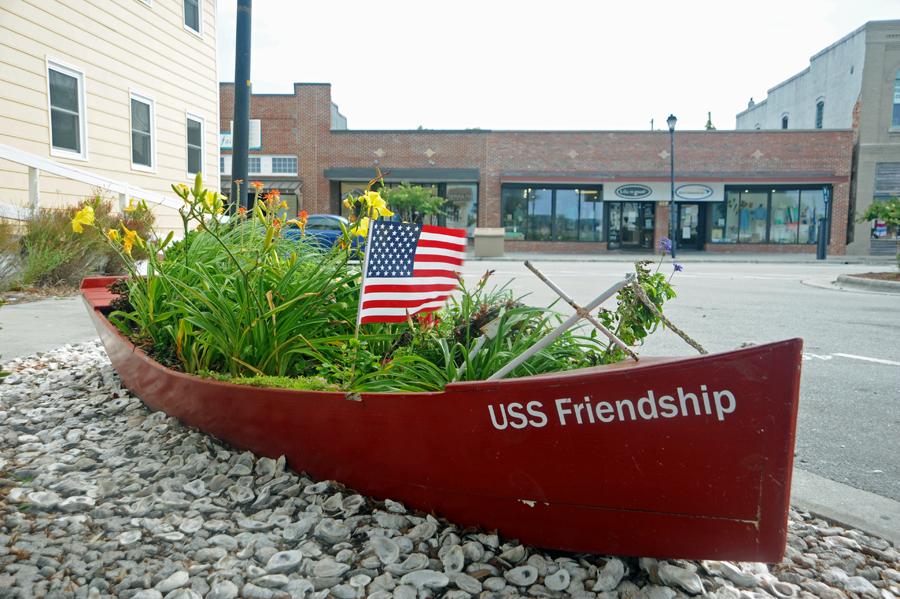 USS Friendship (aground)