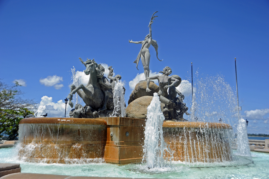 Monumental Raíces Fountain