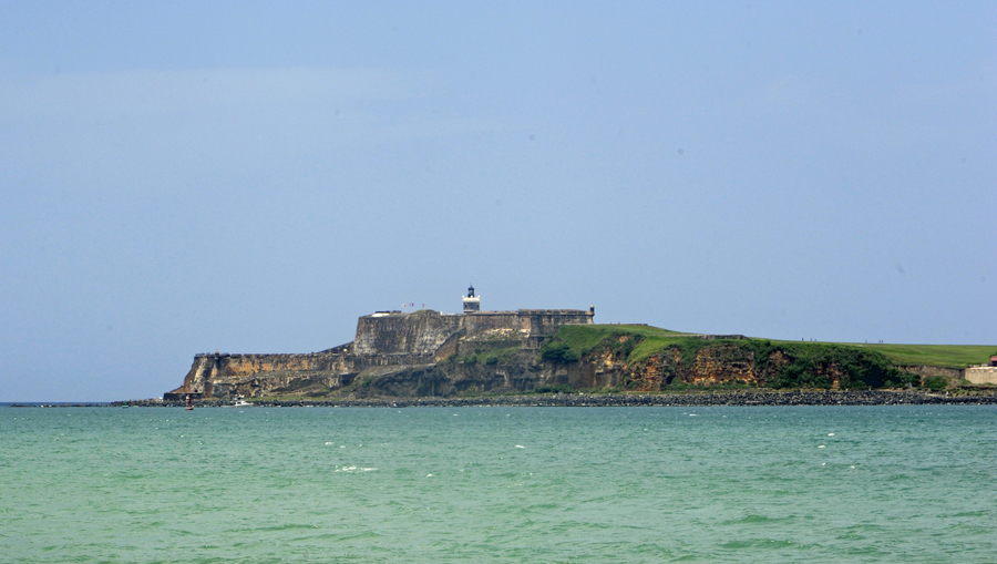 San Felipe del Morro Fortress (from the water)