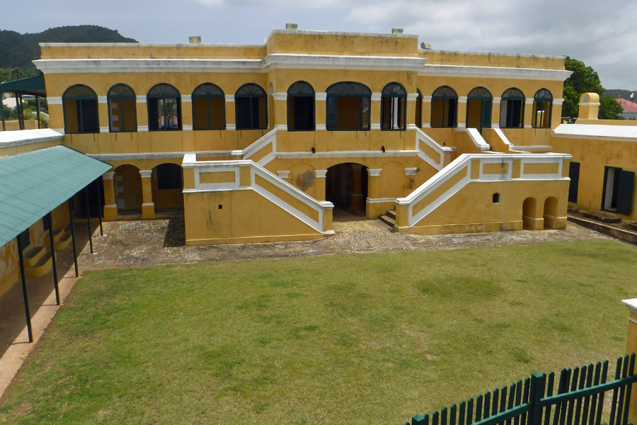 Fort Christiansværn, Christiansted, St Croix