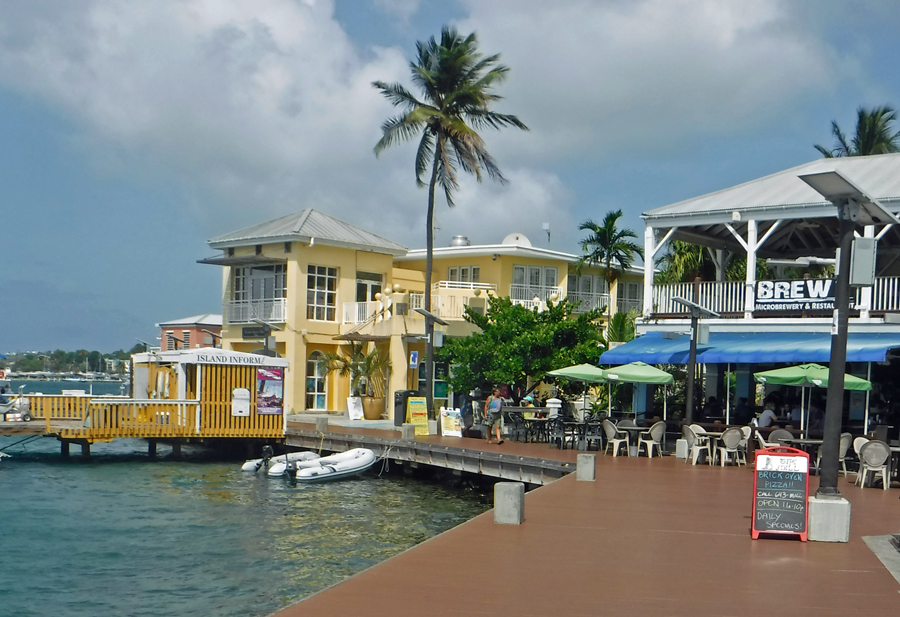 Boardwalk, Christiansted, St Croix