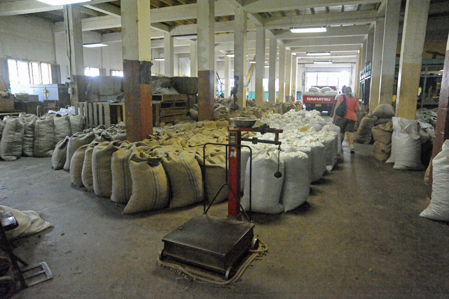 Nutmeg Processing Center - Grenada