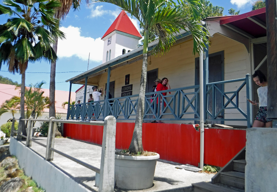 Honore Police Station - Deshaies, Guadeloupe