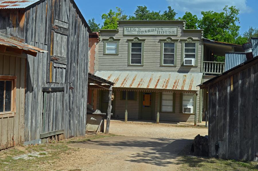 Meg's Boarding House in Pioneer Town