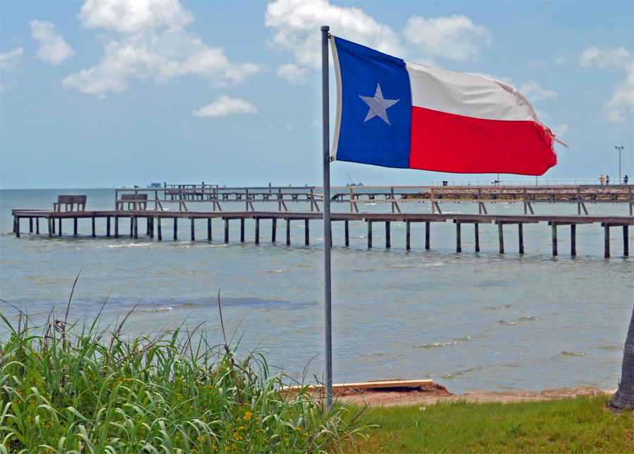Corpus Christi Bay area and Rockport