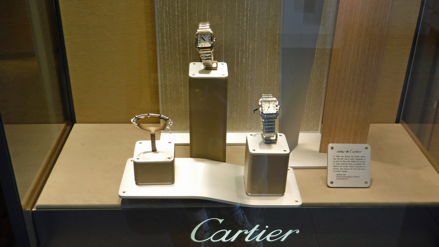 Cartier watches and other shiny things