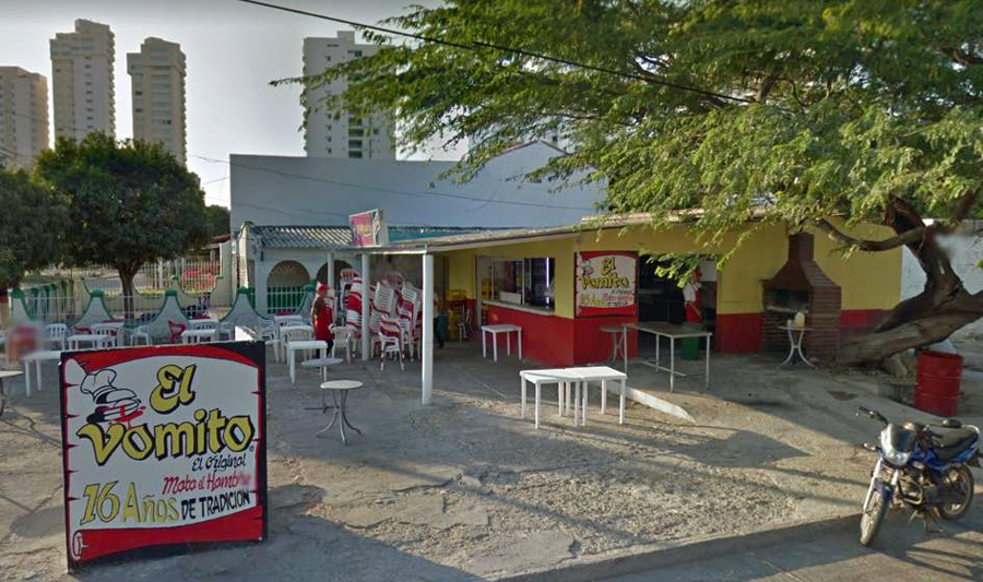 El Vomito - We didn't eat here