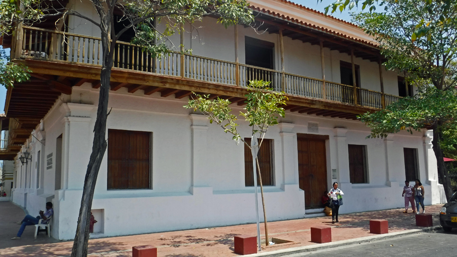 Museo del Oro - The Museum of Gold is located a colonial edifice, the stately Casa de la Aduana (Customs House), built in 1531